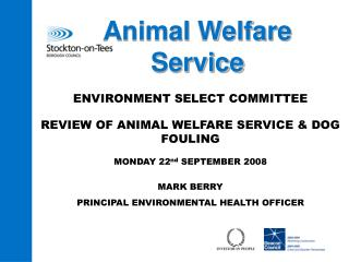 Animal Welfare Service