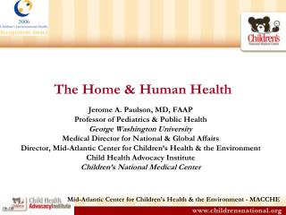 The Home & Human Health