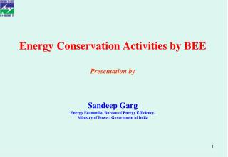Energy Conservation and Efficiency- Potential and Action Plan