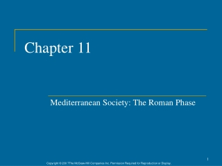 Chapter 5 Rome and the Pax Romana