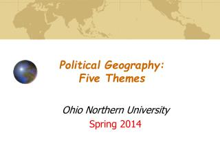 Political Geography: Five Themes