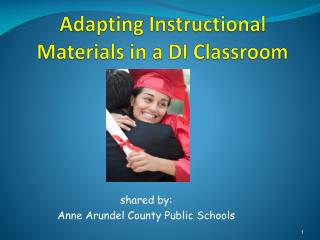 Adapting Instructional Materials in a DI Classroom
