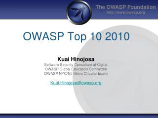 OWASP Top 10 2010