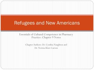 Refugees and New Americans