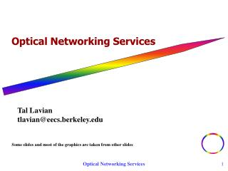 Optical Networking Services