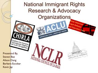National Immigrant Rights Research & Advocacy Organizations