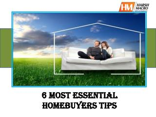 Most Essential Home Buying Tips