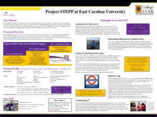 Student Profile:  A snapshot of our currently-enrolled students as of May 2013