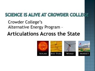 Science is alive at Crowder College