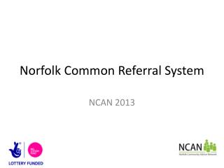 Norfolk Common Referral System