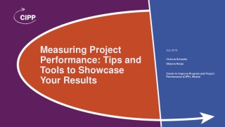 Measuring Project Performance: Tips and Tools to Showcase Your Results
