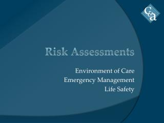 Risk Assessments