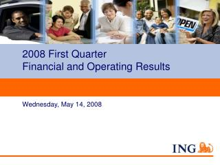 2008 First Quarter  Financial and Operating Results