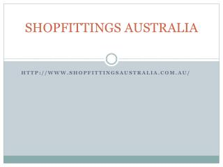 Shopfittings Australia