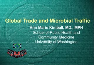 Global Trade and Infections