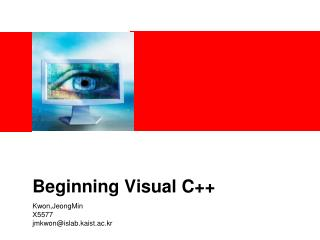 Beginning Visual C++