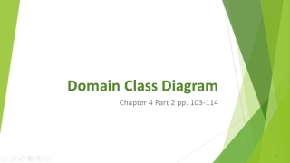 UML: Class diagrams Part 2