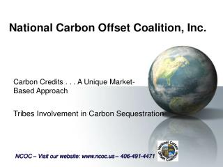 National Carbon Offset Coalition, Inc.