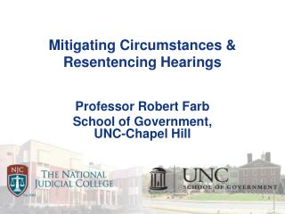 Mitigating Circumstances & Resentencing Hearings