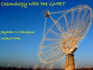Cosmology with the GMRT