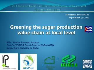 """3rd Global Network Conference on Resource Efficient and Cleaner Production"""