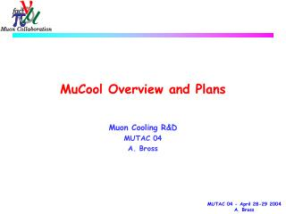 MuCool Overview and Plans
