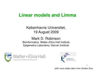 Linear models and Limma