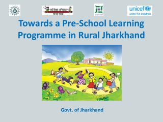 Towards a Pre-School Learning Programme in Rural Jharkhand