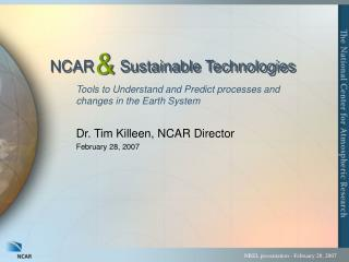 NCAR      Sustainable Technologies