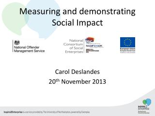 Measuring and demonstrating Social Impact