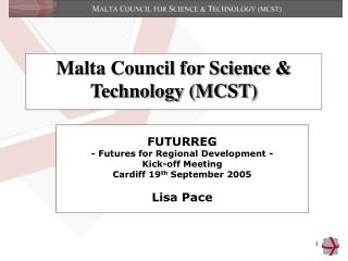 Malta Council for Science & Technology (MCST)