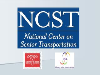 Trends Affecting  Senior Transportation