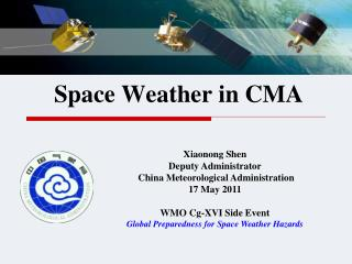 Space Weather in CMA