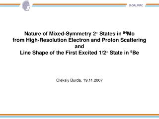 Nature of Mixed-Symmetry 2 +  States in  94 Mo from High-Resolution Electron and Proton Scattering