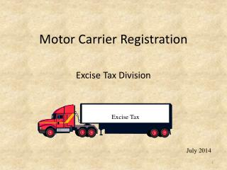 Motor Carrier Registration