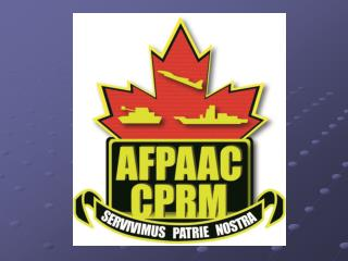 Armed Forces Pensioners ' / Annuitants '  Association of Canada