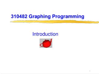 310482 Graphing Programming