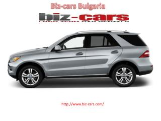 car rental bulgaria