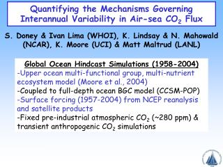 Quantifying the Mechanisms Governing Interannual Variability in Air-sea CO 2  Flux