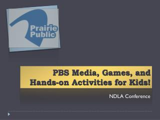 PBS Media, Games, and Hands-on Activities for Kids!
