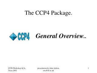 The CCP4 Package.