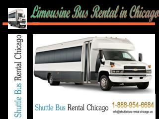 Limousine Bus Rental in Chicago