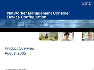 NetWorker Management Console: Device Configuration