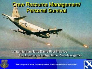 Crew Resource Management/ Personal Survival