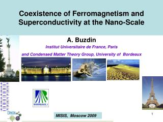 Coexistence of Ferromagnetism and Superconductivity at the Nano-Scale