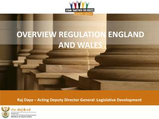 OVERVIEW REGULATION ENGLAND AND WALES