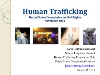 Human Trafficking United States Commission on Civil Rights November 2011