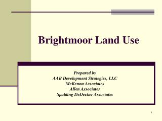 Brightmoor Land Use