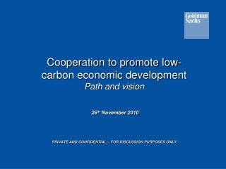 Global Low-carbon Movement and China's Growth