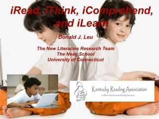 iRead, iThink, iComprehend, and iLearn